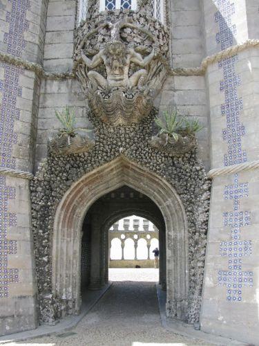 Zdjęcia: Sintra, pałac Pena 2, PORTUGALIA