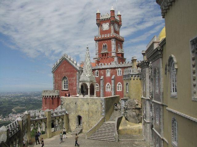 Zdjęcia: Sintra, pałac Pena 3, PORTUGALIA