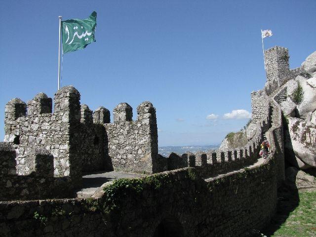 Zdjęcia: Sintra, zamek Maurów, PORTUGALIA