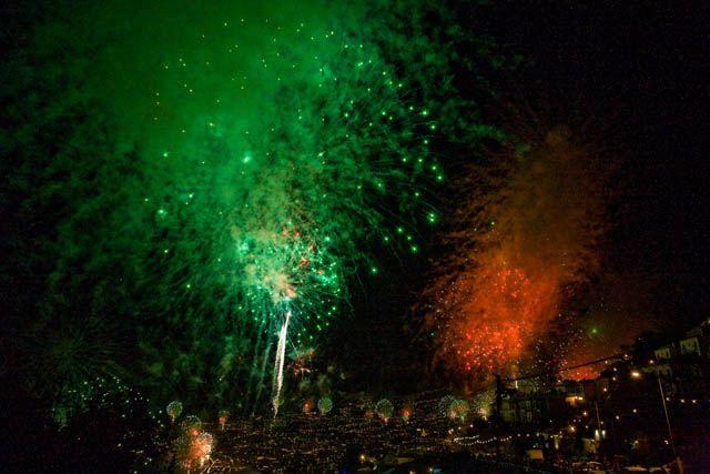 Zdjęcia: Funchal, Madera, Pokaz fajerwerków, PORTUGALIA