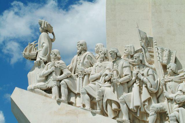 Zdjęcia: Lizbona/Pomnik Zdobywców, Marco Polo itd., PORTUGALIA