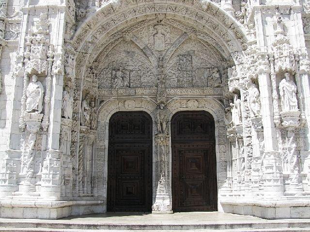 Zdj�cia: Lizbona, klasztor Hieronimit�w 2, PORTUGALIA