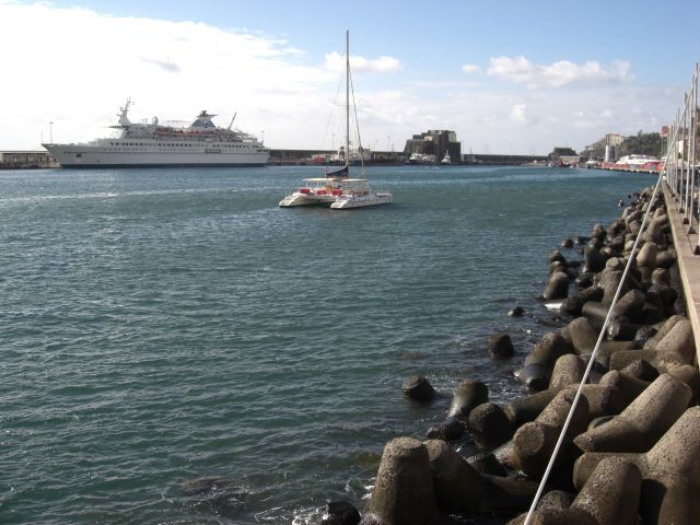 Zdjęcia: Madeira - Funchal, Port Funchal 3, PORTUGALIA