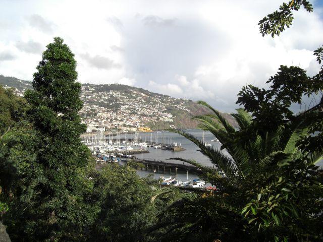 Zdjęcia: Madeira - Funchal, Fajny widoczek na port, PORTUGALIA
