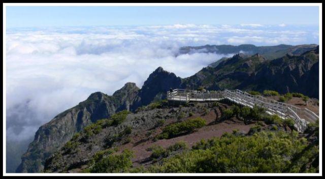 Zdjęcia: Pico Ruivo 1862 m.n.p.m., Madera, Ponad chmurami, PORTUGALIA