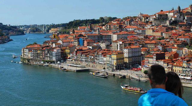 Zdj�cia: Porto, Grande Porto, Zakochani w Porto, PORTUGALIA