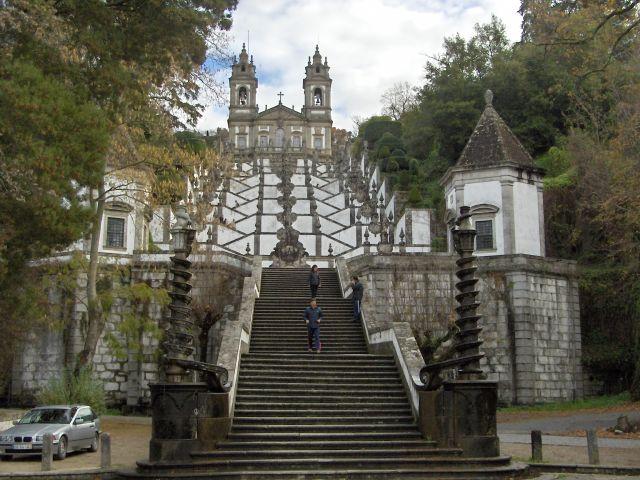 Zdjęcia: Braga, The Minho, Bom Jesus do Monte, PORTUGALIA