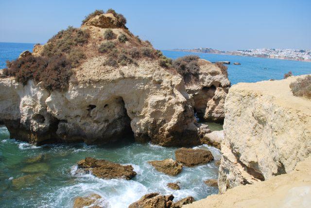 Zdjęcia: Albufeira, Portugalia , Plaże Albufeiry, PORTUGALIA