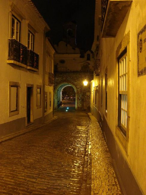 Zdjęcia: Faro, Algarve, Faro nocą, PORTUGALIA