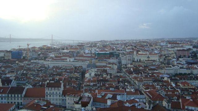 Zdjęcia: Lizbona, Panorama Lizbony, PORTUGALIA