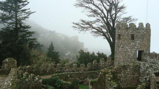 Zdjęcia: Sintra, Castelo dos Mouros, PORTUGALIA