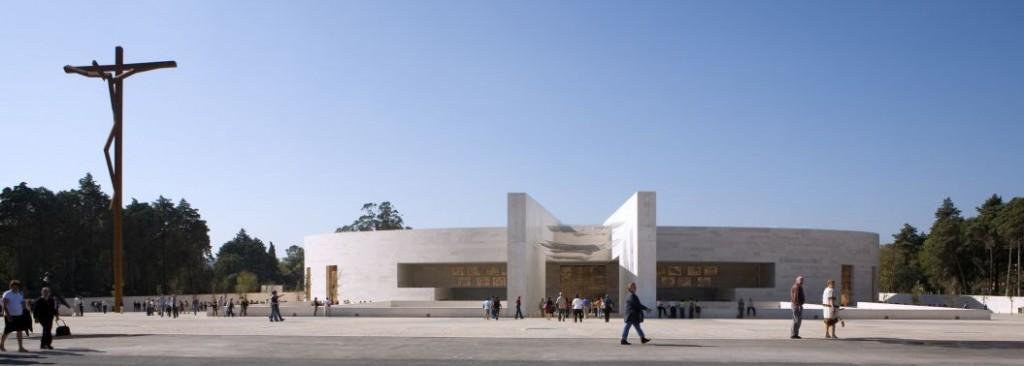 Zdjęcia: Fatima, Lisboa, Bazylika Trójcy Przenajświętszej (Basílica da Santíssima Trindade), PORTUGALIA