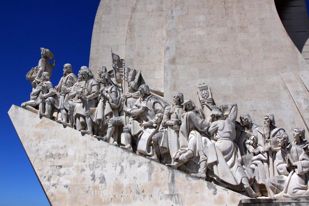 Zdjęcia: Lizbona, Lizbona, pomnik odkrywców, PORTUGALIA