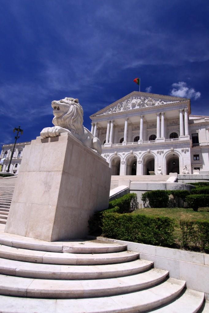 Zdjęcia: Lizbona, Lizbona, portugalski parlament, PORTUGALIA