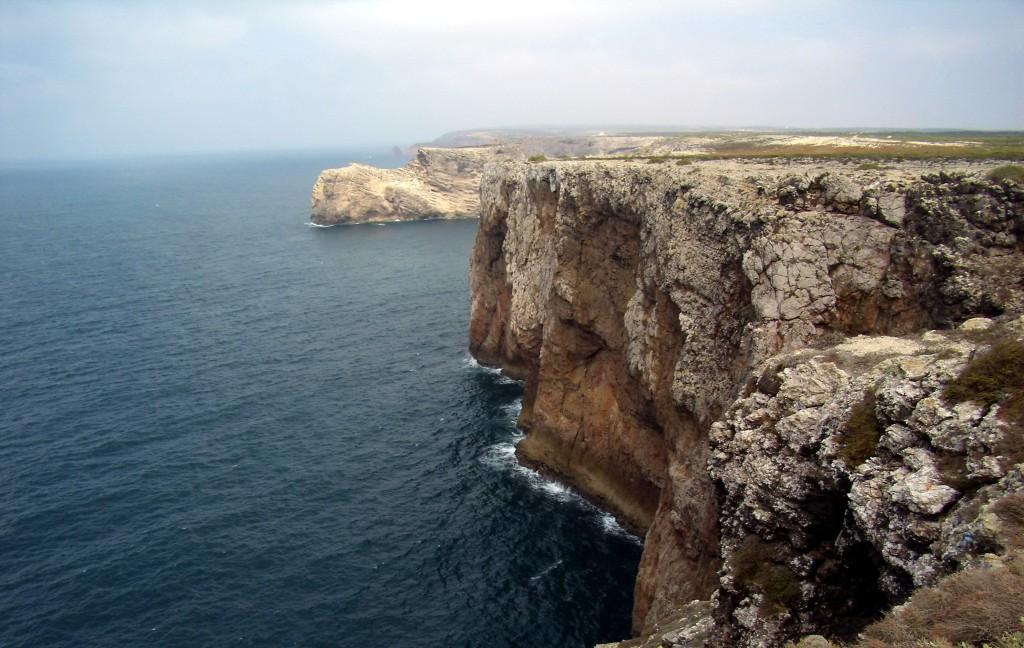Zdjęcia: Przylądek St. Vincent, Sagres, klif, PORTUGALIA
