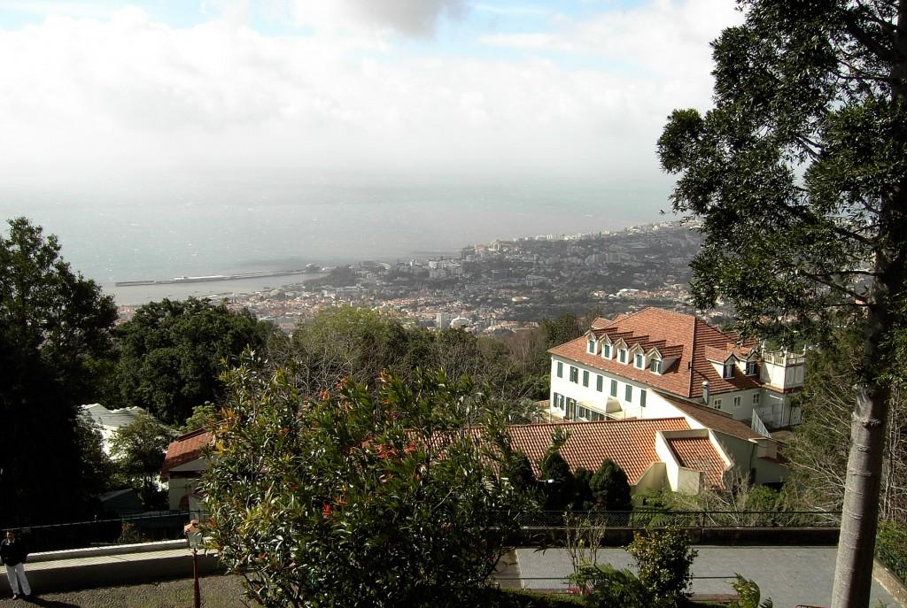 Zdjęcia: Funchal, Madera, Widok ze wzgórza, PORTUGALIA