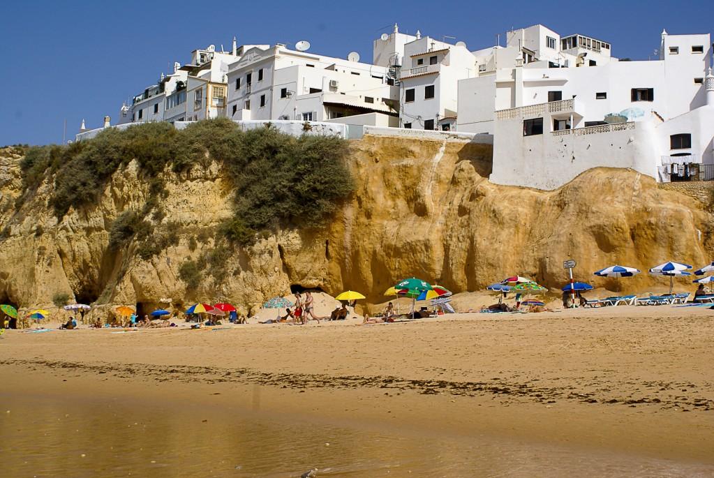 Zdjęcia: Albufeira, Algarve, Plaża w Albufeira, PORTUGALIA