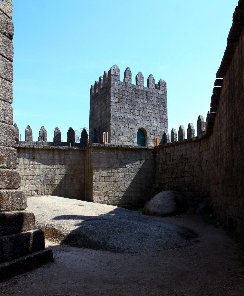 Zdjęcia: Guimarães, Dystrykt Braga, Na zamku, PORTUGALIA