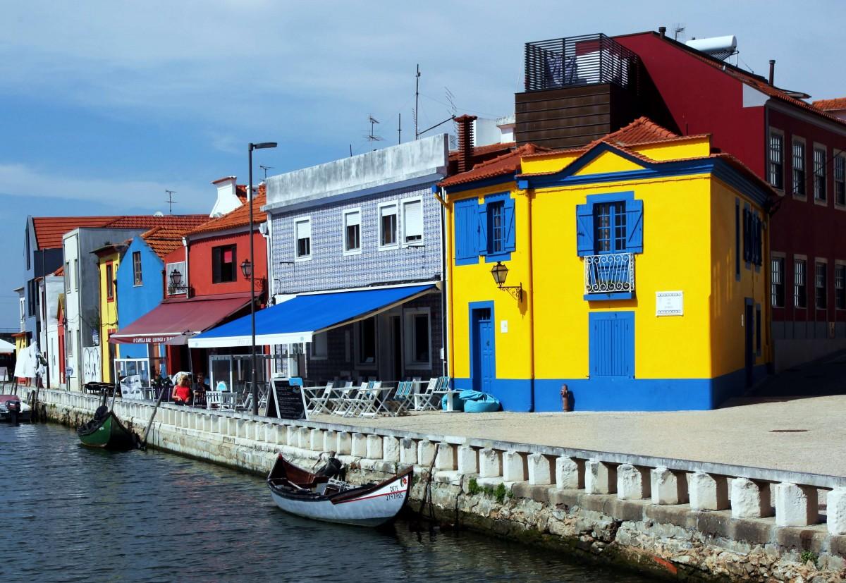 Zdjęcia: Aveiro, Baixo Vouga, Życie nad kanałem, PORTUGALIA