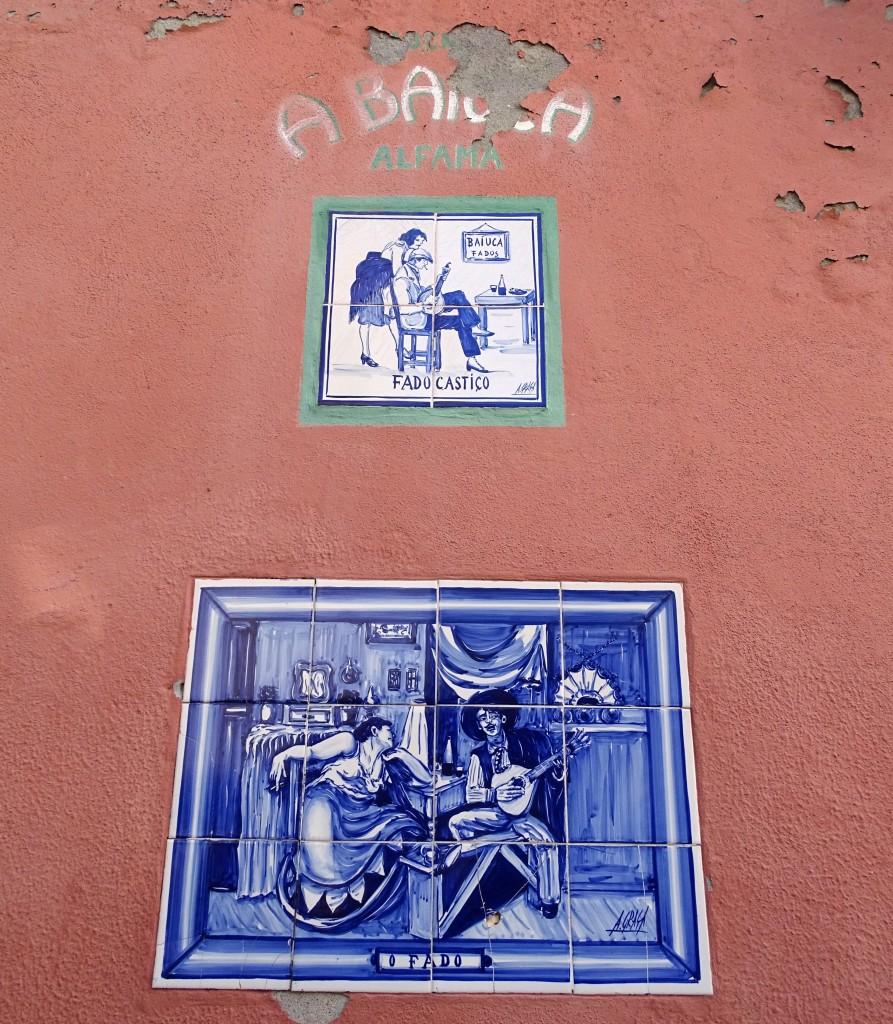 Zdjęcia: Lizbona - Alfama, Centrum, Fado na azulejos, PORTUGALIA