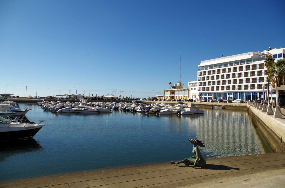 Zdjęcia: Faro , algarve,  - syrenka z Faro  -, PORTUGALIA