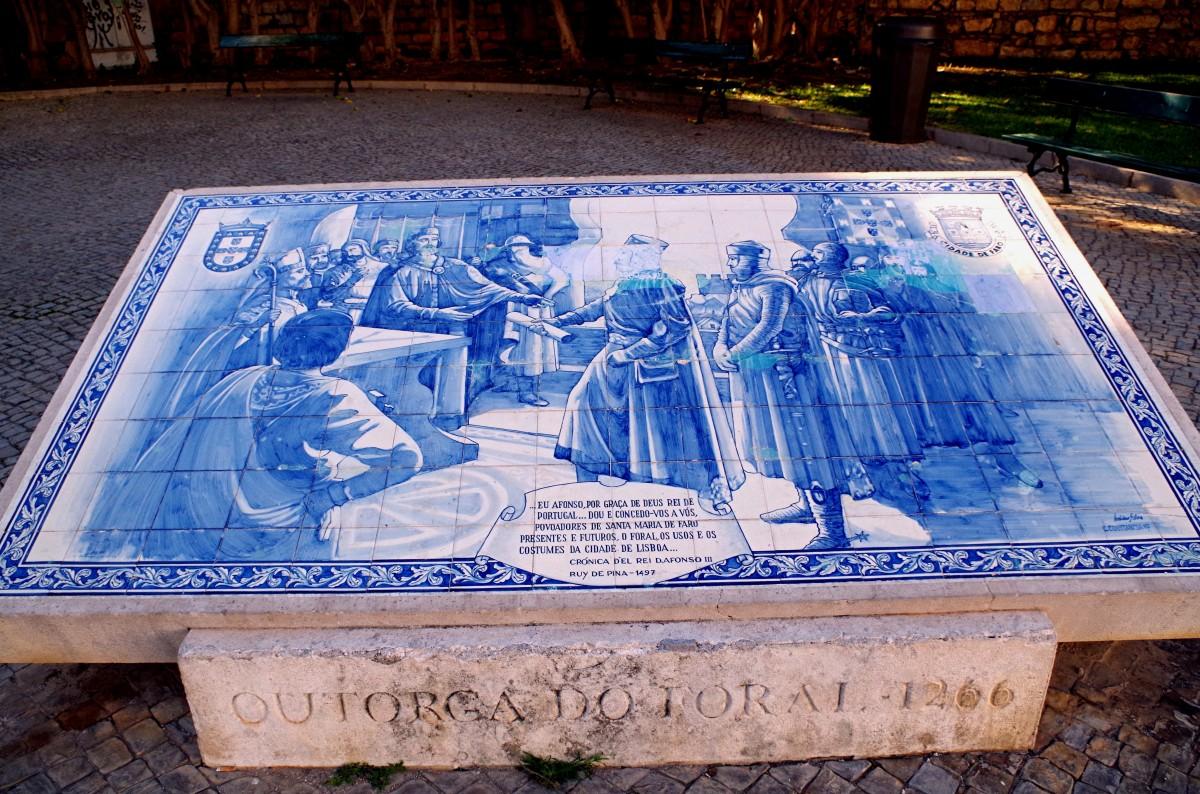 Zdjęcia: Faro, algarve, - azulejos -, PORTUGALIA