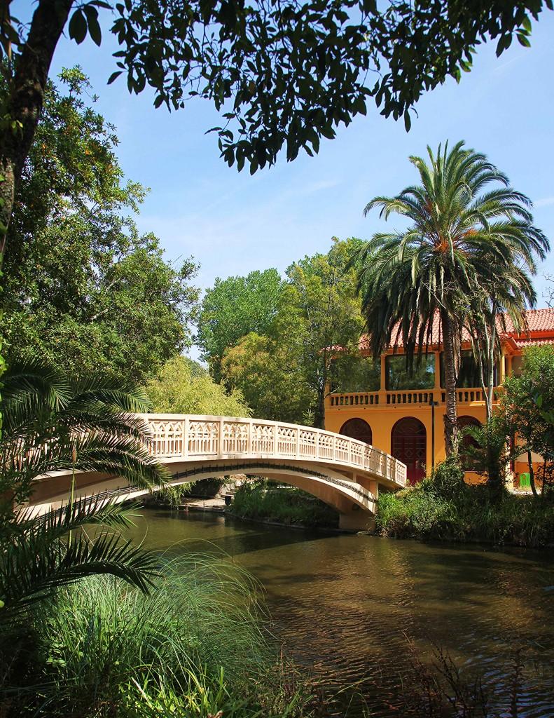 Zdjęcia: Park miejski, Aveiro, Mostek, PORTUGALIA