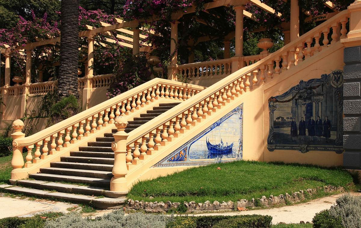 Zdjęcia: Park miejski, Aveiro, Architektura parkowa, PORTUGALIA