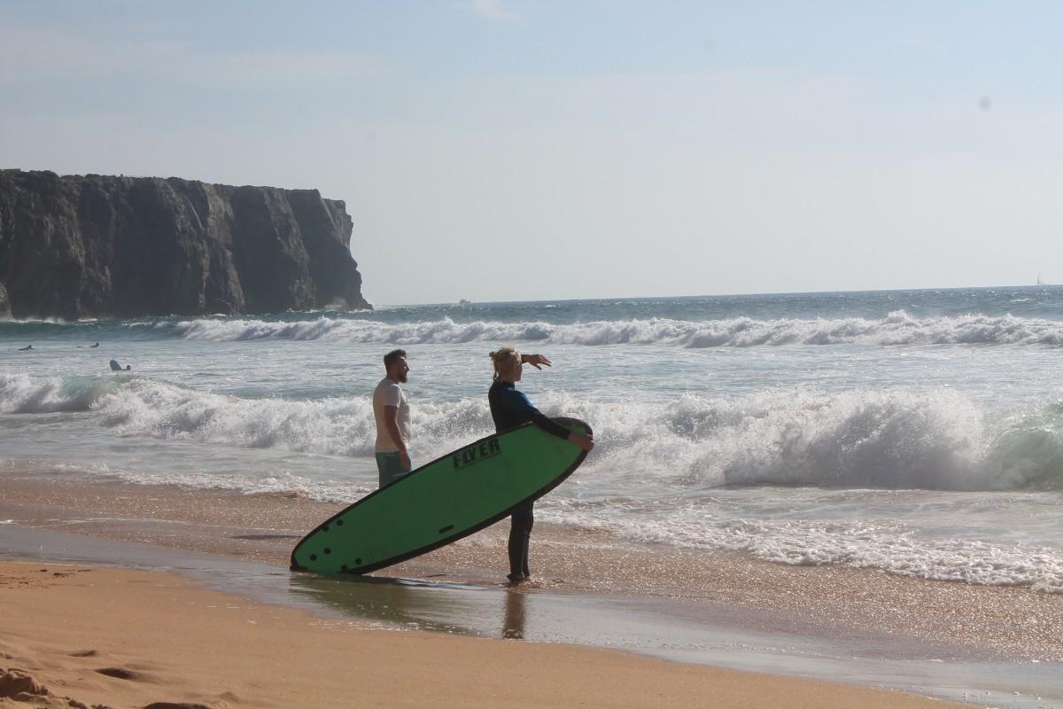 Zdjęcia: Praia da Adraga, Sintra, Zagadać, czy nie zagadać... hmmm...??, PORTUGALIA
