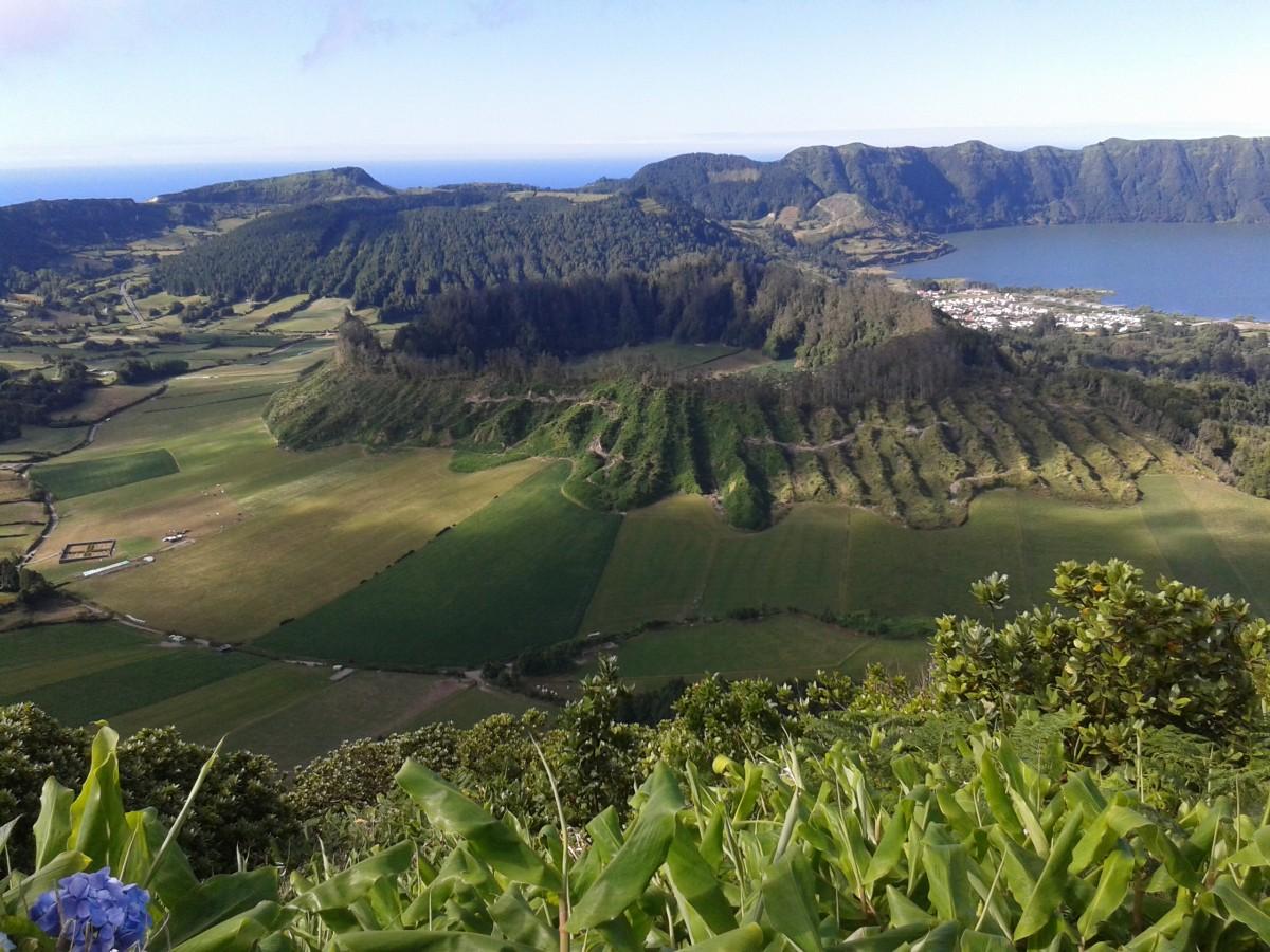 Zdjęcia: Sao Miguel, Azory, Krater, PORTUGALIA