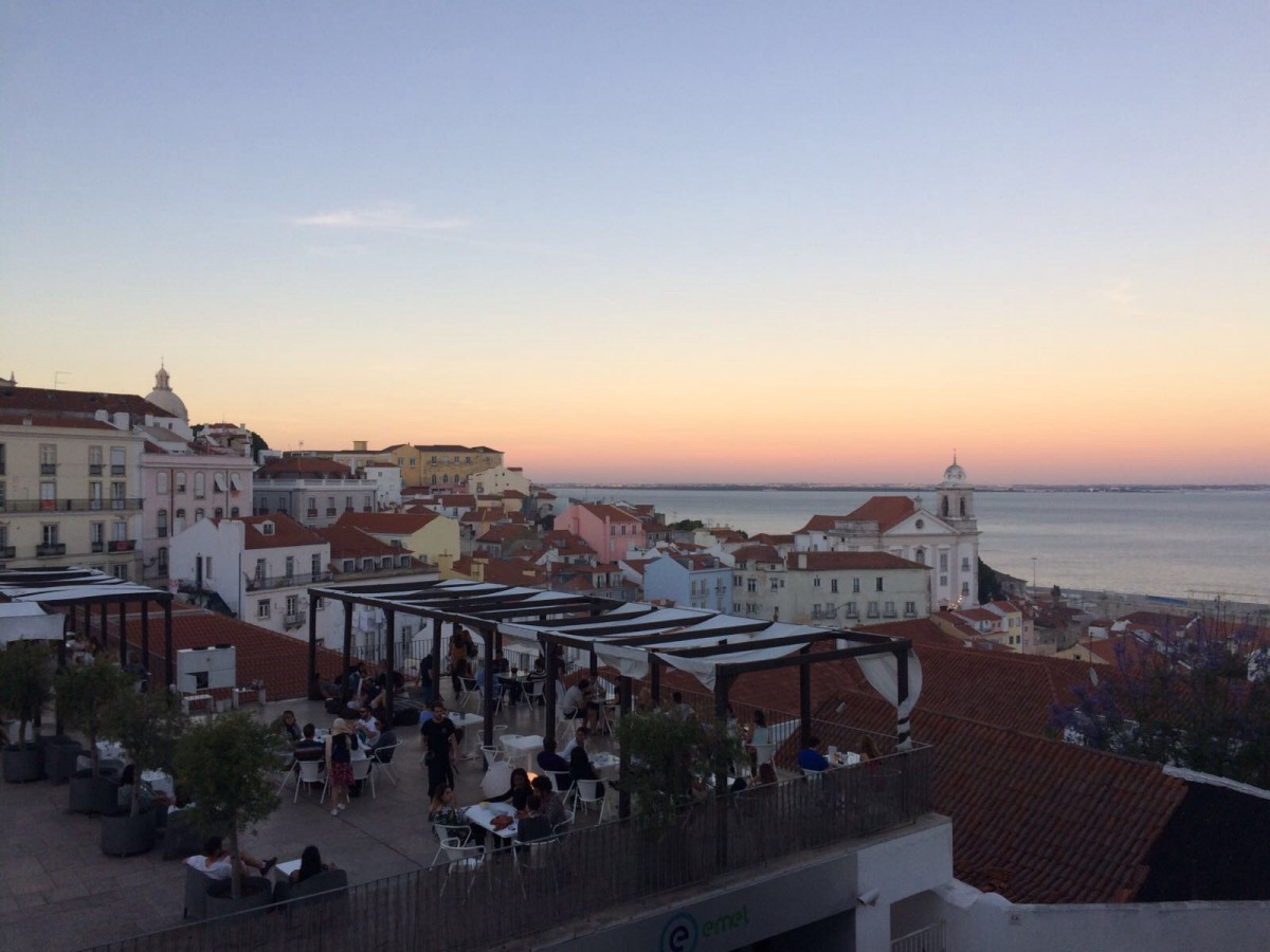 Zdjęcia: Lizbona, Lizbona, Zachód Słońca w Lizbonie, PORTUGALIA