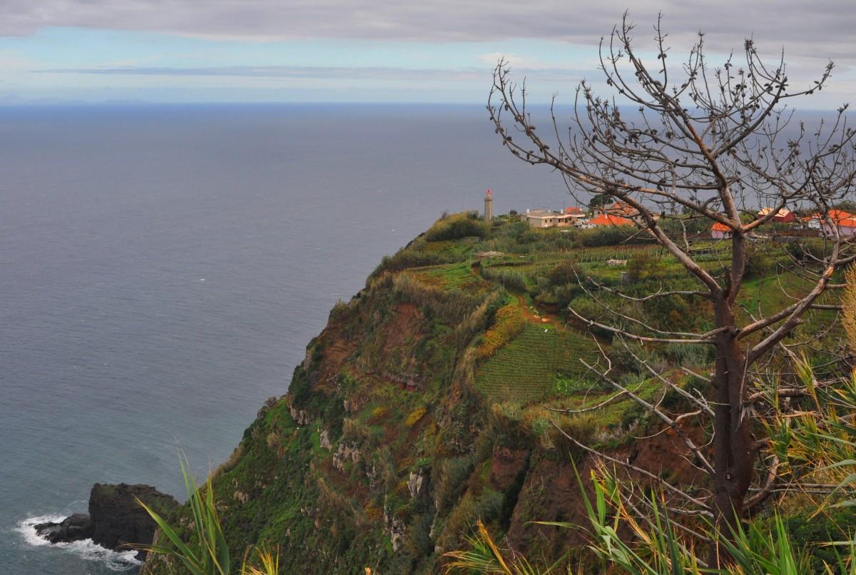 Zdjęcia: północno-wschodnie wybrzeże, Madera, Mieszkać nad urwiskiem, PORTUGALIA