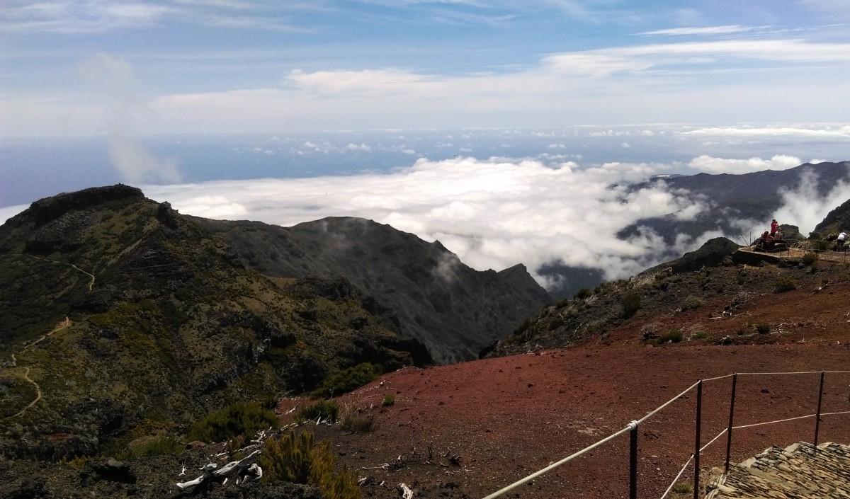 Zdjęcia: na górskim szlaku, Madera, Madera, PORTUGALIA