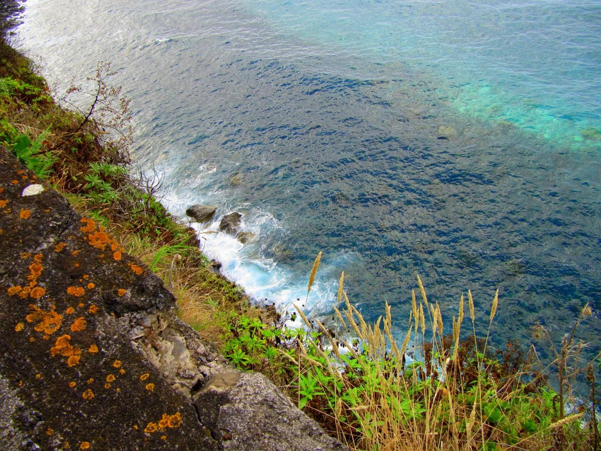 Zdjęcia: okolice Sao Vicente, Madera, Ocean u stóp Madery, PORTUGALIA