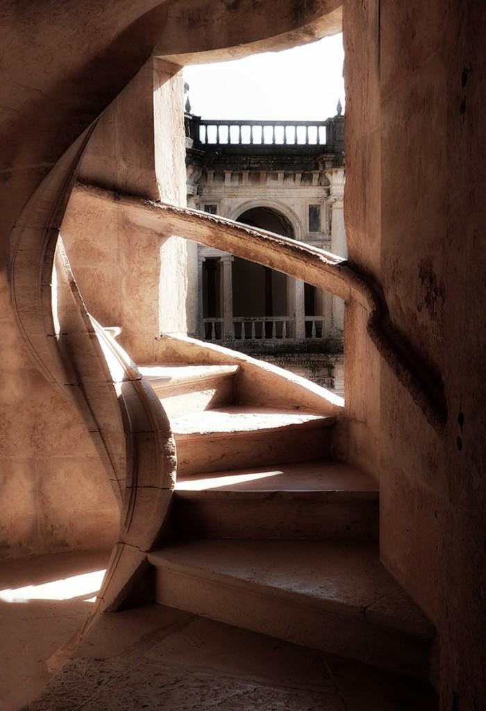 Zdjęcia: Tomar, Klasztorne schody, PORTUGALIA