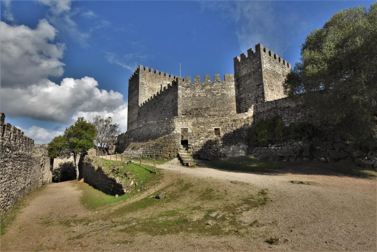 Zdjęcia: Leiria, Pinhal Litoral, Leiria, zamek, PORTUGALIA