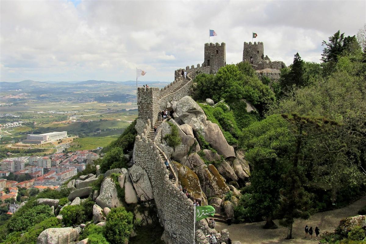 Zdjęcia: Sintra, zamek Maurów..., PORTUGALIA