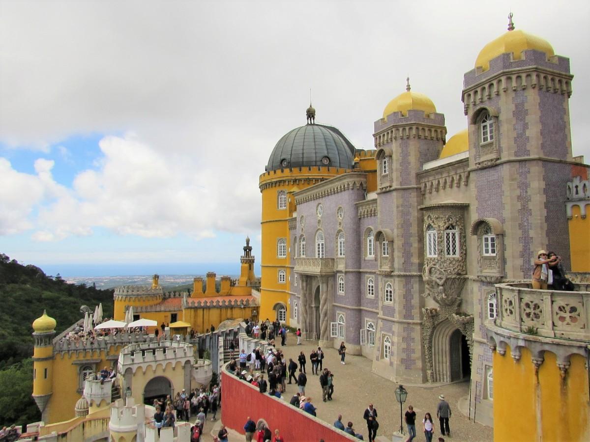 Zdjęcia: Sintra, Palácio Nacional da Pena..., PORTUGALIA