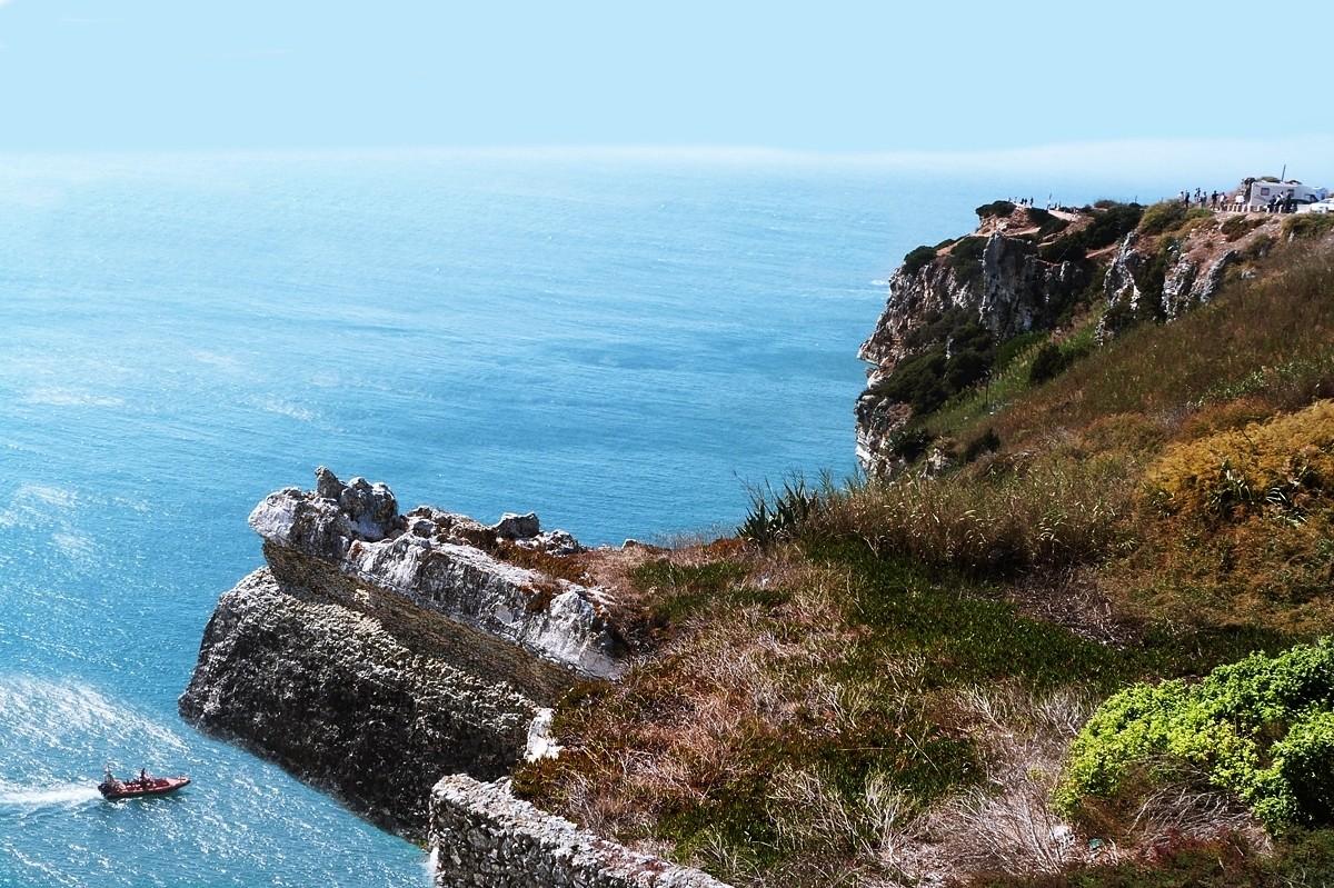 Zdjęcia: Nazaré, .........., Patrząc z góry, PORTUGALIA