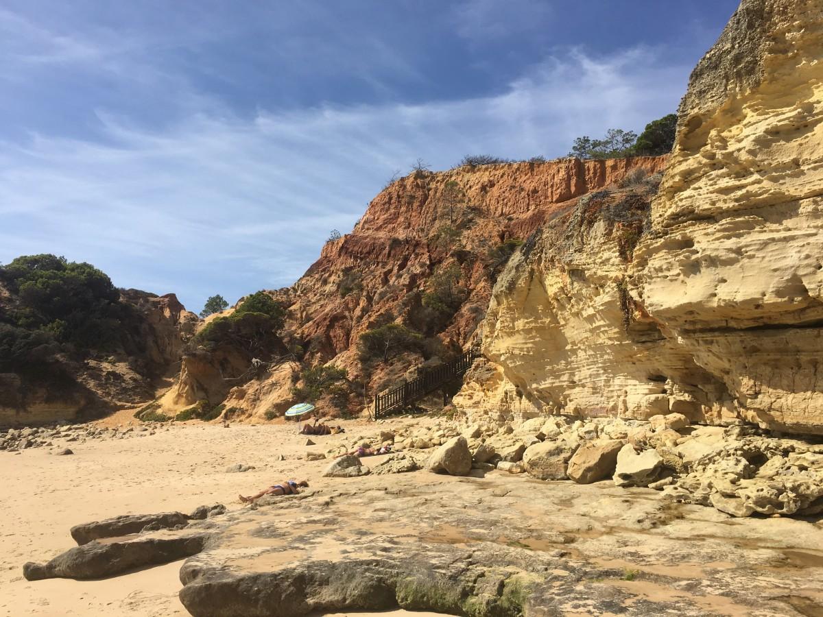 Zdjęcia: Playa Falesia , Algarve, Tu ja i plaża , PORTUGALIA