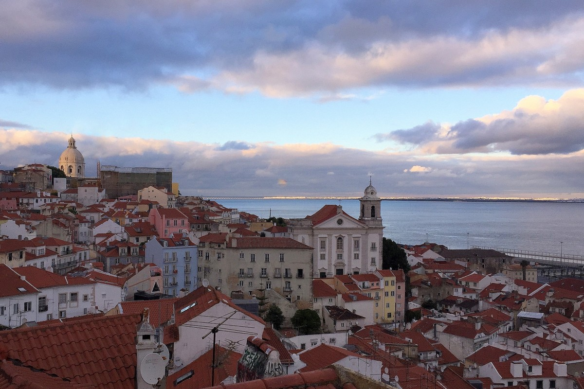 Zdjęcia: Lizbona, ku wieczorowi..., PORTUGALIA