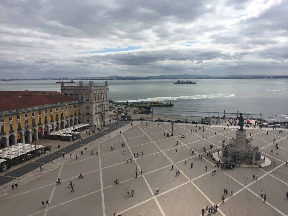 Zdjęcia: Lizbona , Lizbona, Lizboński plac , PORTUGALIA