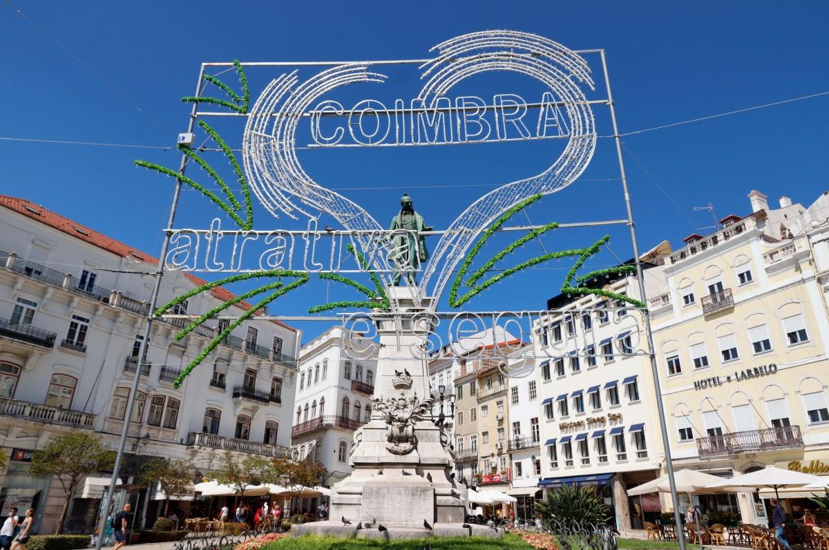 Zdjęcia: Coimbra, Coimbra, W śródmieściu Coimbry, PORTUGALIA