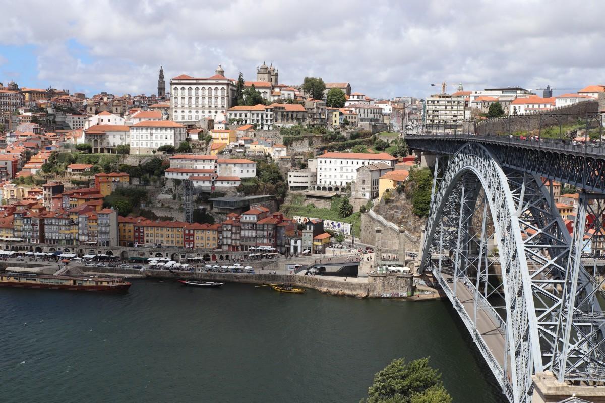 Zdjęcia: Żelazny most w Porto w Portugalia, PORTO , PORTO, PORTUGALIA