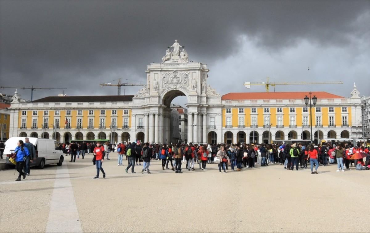 Zdjęcia: Lizbona, Stolica, Lizbona, pałac , PORTUGALIA