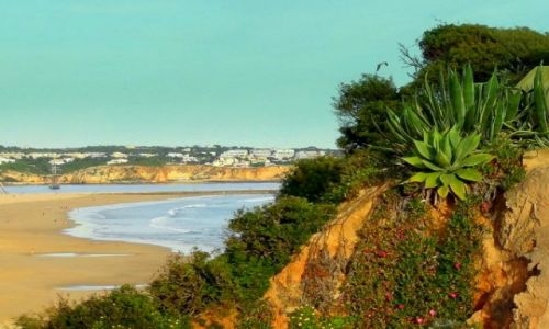 Zdjecie PORTUGALIA / Algarve / Portimao / Plaża w Portimao