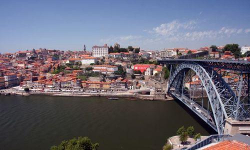 Zdjecie PORTUGALIA / - / PORTO / Nad rzeka Douro