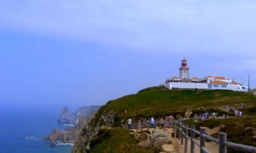 PORTUGALIA / - / Cabo da roca / przylądek skały
