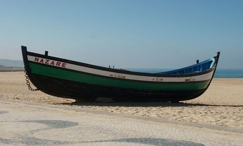Zdjęcie PORTUGALIA / Nazare / Nazare / wizytówka Nazare