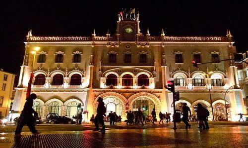 Zdjęcie PORTUGALIA / Lisbona / Lisbona / dworzec w Lisbonie